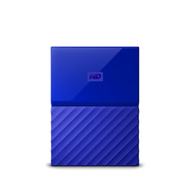 "2TB Western Digital MyPassport Blue (син), външен, 2.5"" (6.35 cm), USB 3.0 image"