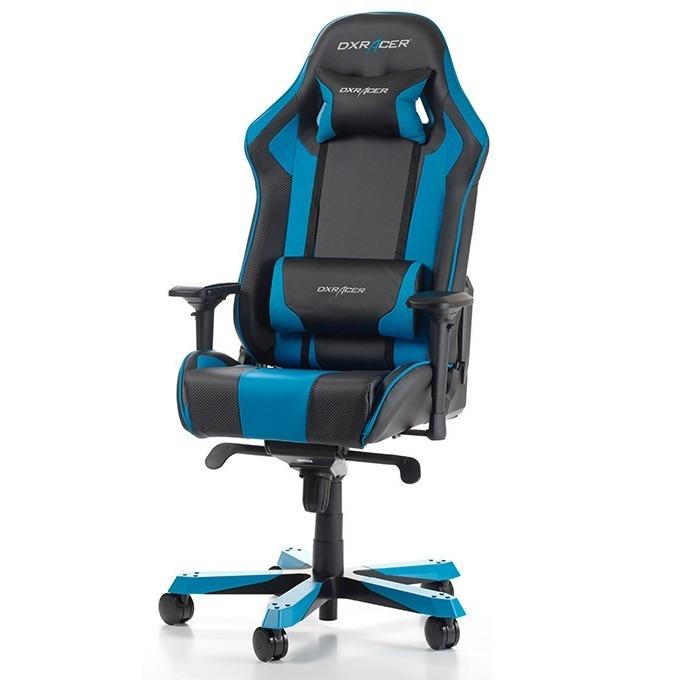 Геймърски стол DXRacer King OH/KS06/NB, черен/син image