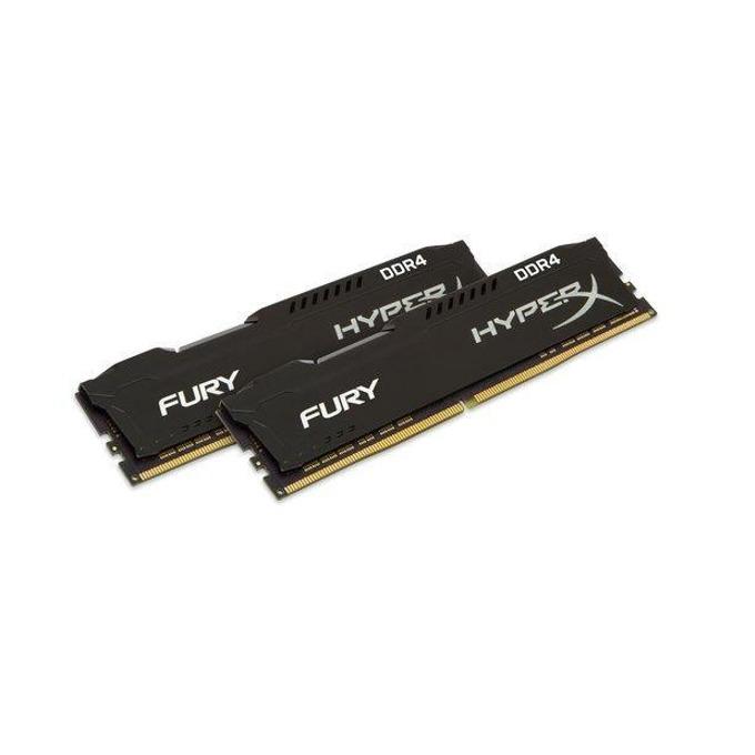 16GB (2x8GB) DDR4 2933Mhz, HyperX Fury HX429C17FB2K2/16, 1.2V image