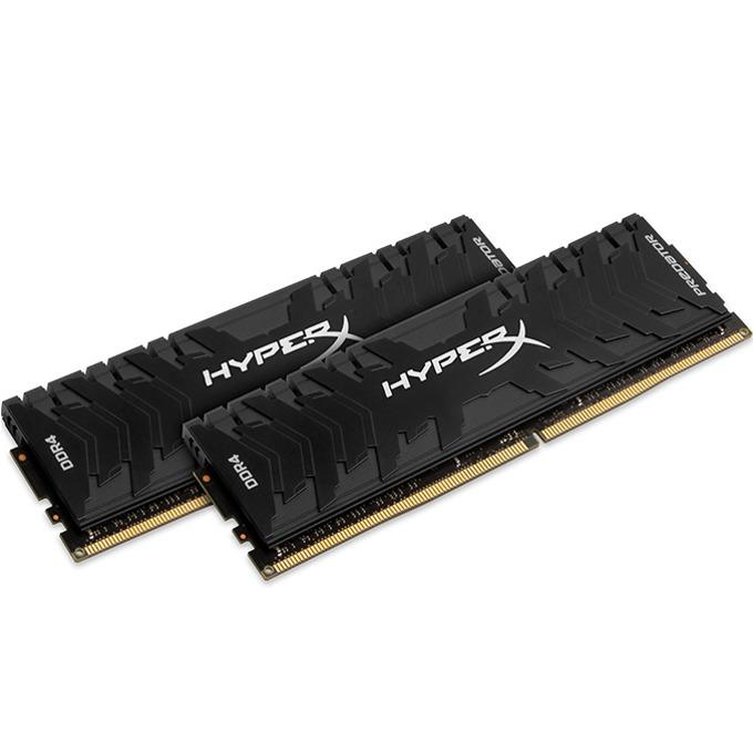8GB (2x 4GB) DDR4 3200MHz, HyperX HX432C16PB3K2/8, 1.35V image