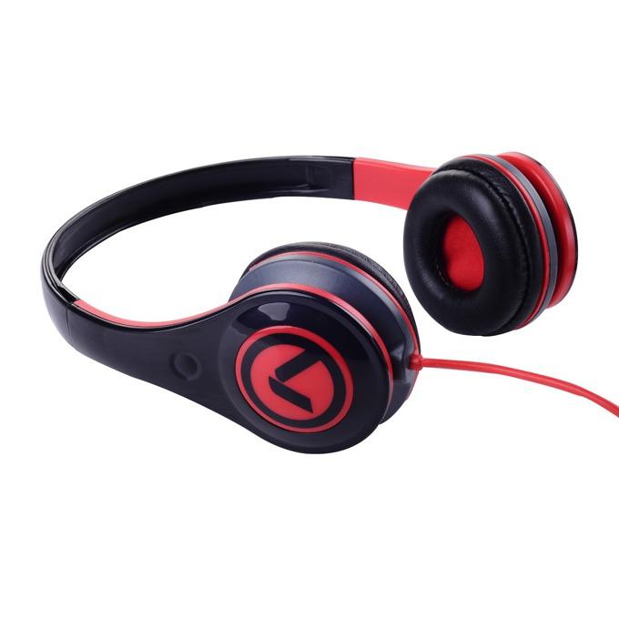 Слушалки Amplify Freestylers AM2002/BKR, червено-черни image