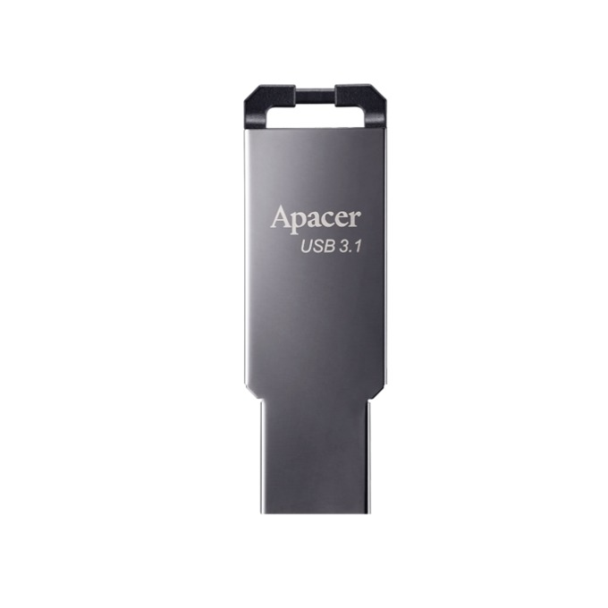 Памет 16GB USB Flash Drive, Apacer AH360, USB 3.1, сив image