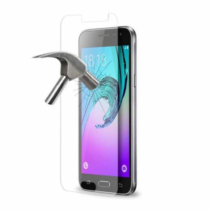 Протектор от закалено стъкло /Tempered Glass/ DeTech за Samsung J3 2016 image
