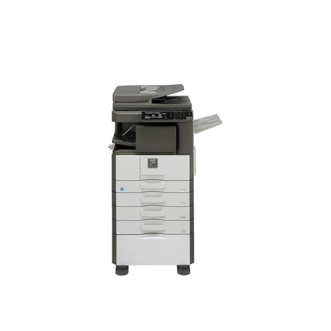 Мултифункционално лазерно устройство Sharp MX-M356N, монохромен, принтер/копир/скенер/факс, 600 x 600 dpi, 35 стр/мин, LAN 100, USB, A3 image