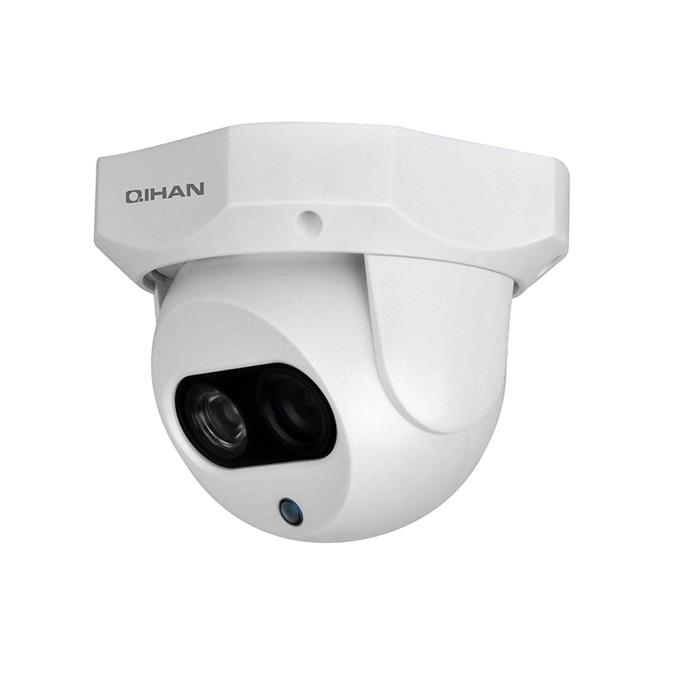 """Qihan AHD камера, куполна, 1/4"""" CMOS, 1MP, 3.6mm, ИЧ-10m image"""