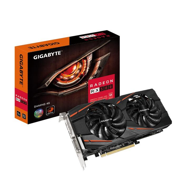 Gigabyte Radeon RX580 Gaming 4G GV-RX580GAMING-4GD