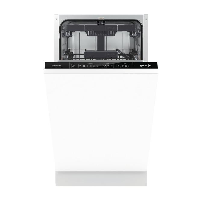 Съдомиялна Gorenje GV 55110, клас A++, 10 комплекта, 5 програми, 4 температури, самопочистващ се филтър, аква стоп, SpeedWash функция, бяла image