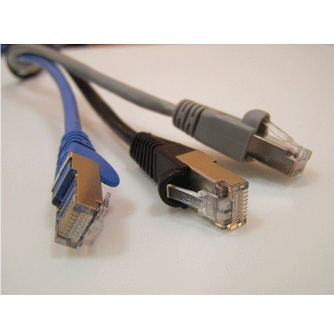 Пач кабел ACnetPLUS, FTP, Cat 5e, 3m, сив image