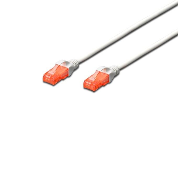 Patch cable Assmann, UTP, Cat.6, 7.5m, сив image