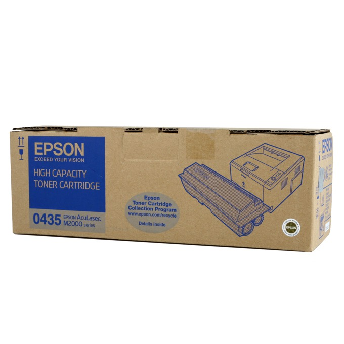 КАСЕТА ЗА EPSON AcuLazer M2200D/DN/DT/DTN - Black high capacity - P№ C13S050435 - заб.: 8000k image