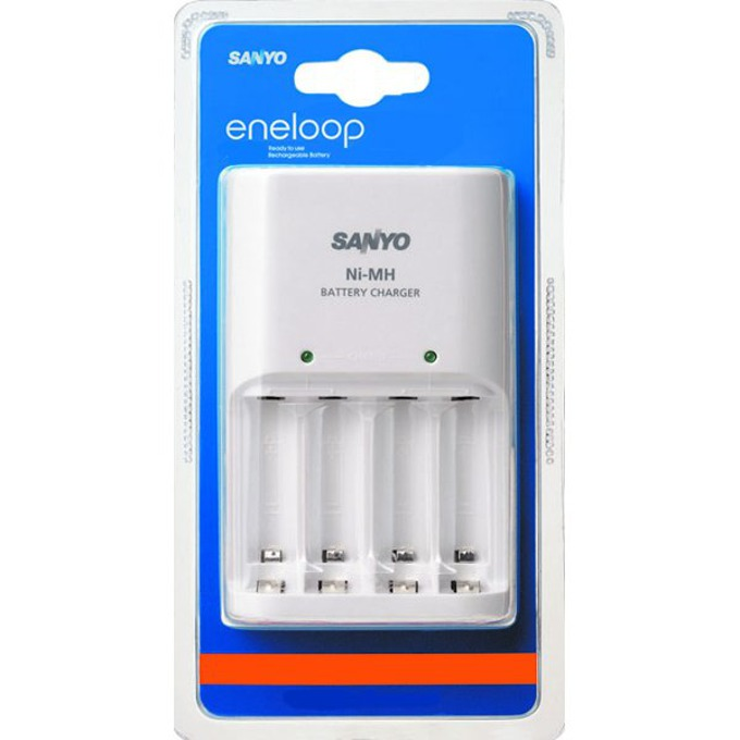 Зарядно устройство ENELOOP MQN04-E EL за батерии АА и ААА. image
