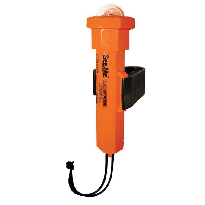 Фенер UST Brands See me 2.0, 2x AA, 45 lumens, водоустойчив, авариен, активира се от вода, оранжев image