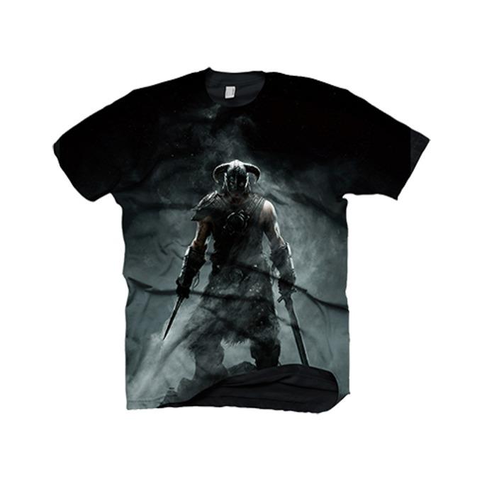 Тениска Skyrim Dragonborn, Size M image