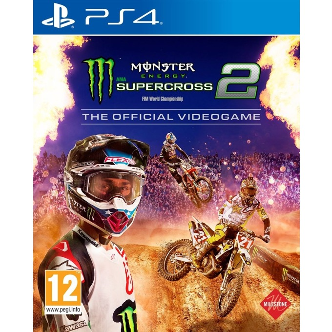 Игра за конзола Monster Energy Supercross - The Official Videogame 2, за PS4 image