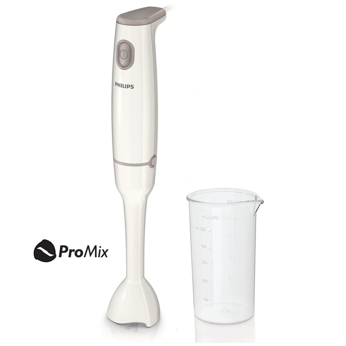 Ръчен пасатор Philips HR1600/00, Daily Collection, ProMix blending technology, кана (0.5л.), 550 W, бял image
