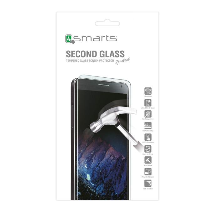 Протектор от закалено стъкло /Tempered Glass/, 4Smarts за Motorola Moto G4 Plus image