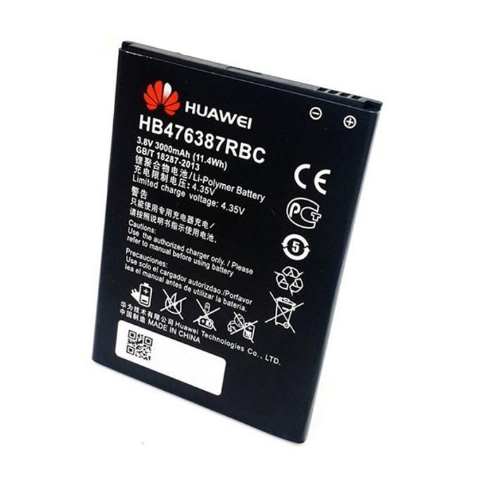 Батерия (оригинална) Huawei HB476387RBC за Huawei Ascend G750/Honor 3X, 3000mAh/3.8V, Bulk image
