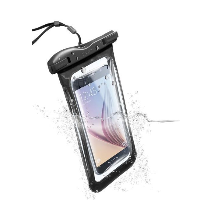 """Водоустойчив калъф за мобилни устройства до 5,7""""(14,47cm), черен image"""