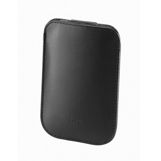 Калъф за HTCPO-S530, джоб, кожен, Wildfire S, черен  image