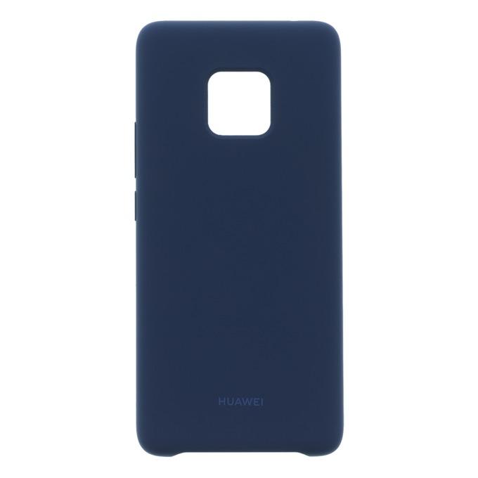 Калъф за Huawei Mate 20 Pro, силиконов, Huawei C-Laya-Rubber, син image