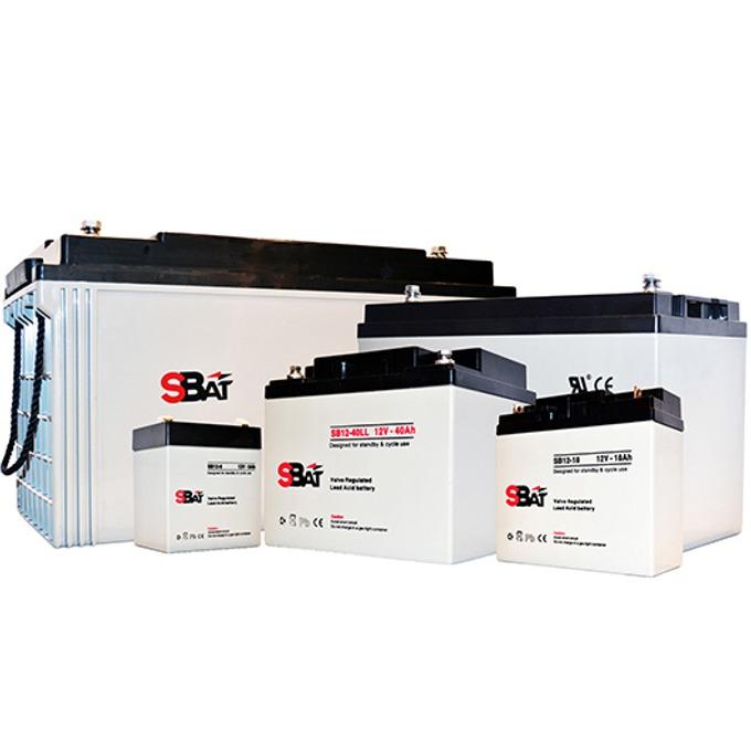 Акумулаторна батерия SBat SB12-55LL, 12V, 55Ah image