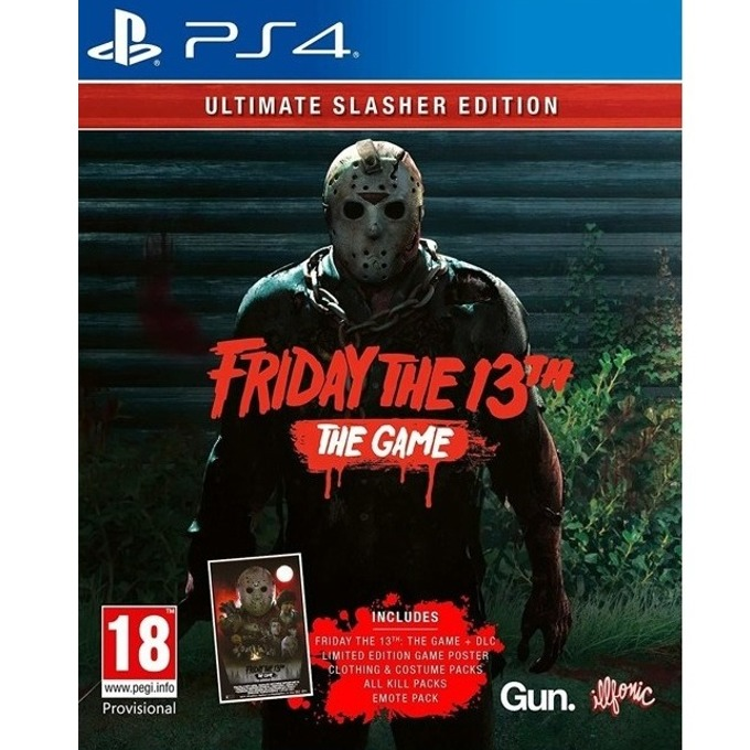 Игра за конзола Friday the 13th: The Game - Ultimate Slasher Edition, за PS4 image
