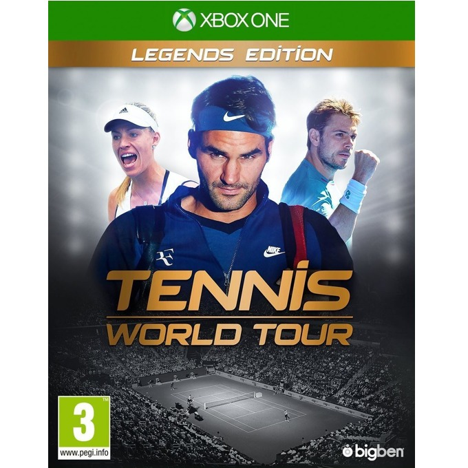 Tennis World Tour Legends Edition, за Xbox One image