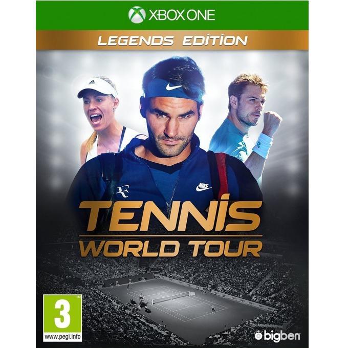Игра за конзола Tennis World Tour Legends Edition, за Xbox One image