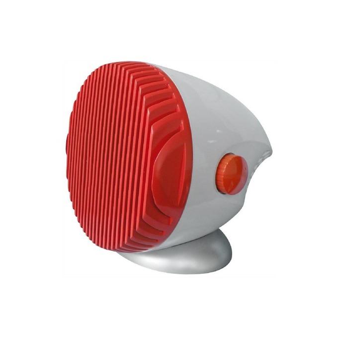 Вентилаторна печка Finlux FCH-160, керамичен нагревател, 2 степени на мощност, защита от прегряване и преобръщане, 1600W, бяла-червена image
