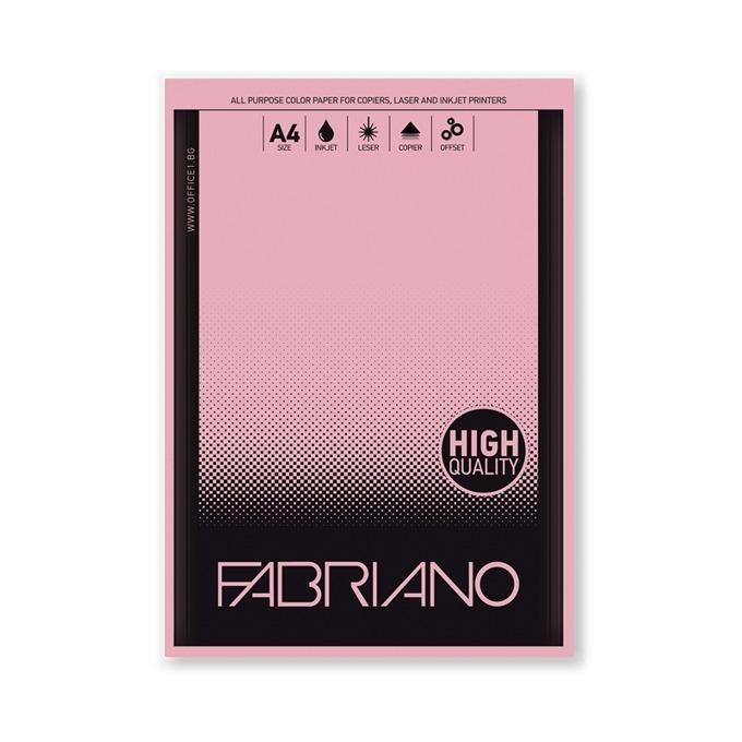 Fabriano A4, 160 g/m2, розов, 50 листа product