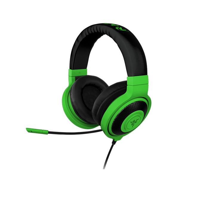 Слушалки Razer Kraken Pro Neon, микрофон, зелени image
