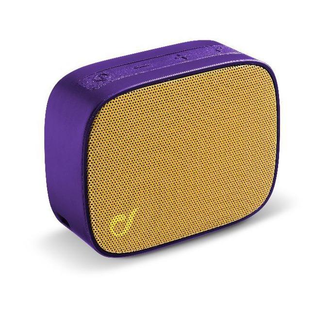 Тонколона Cellular line Fizzy Universale, 1.0, Bluetooth, златиста лилава, безжична image
