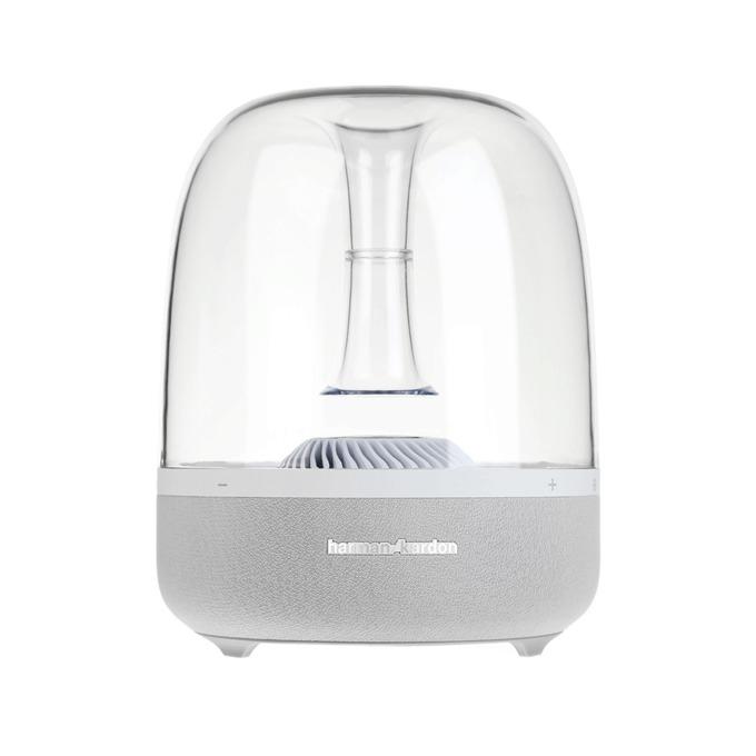 Тонколона Harman Kardon Aura, 1.0, 60W RMS, Bluetooth, AirPlay, DLNA, бяла image