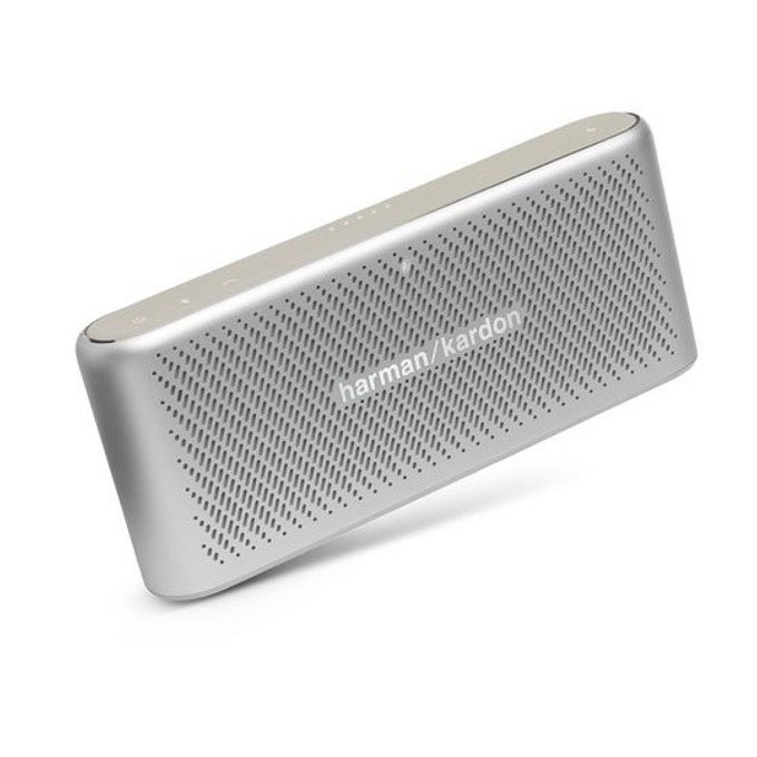 Тонколона harman/kardon Traveler, 2.0, RMS(5W + 5W), Bluetooth, 2500mAh, сребриста image