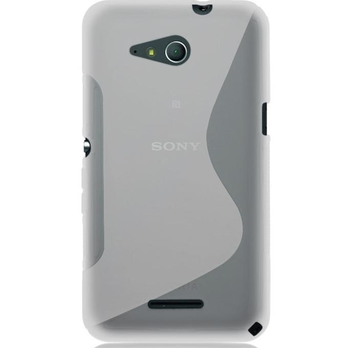 Силиконов протектор S-Line Cover Case за Sony Xperia E4G, прозрачен image