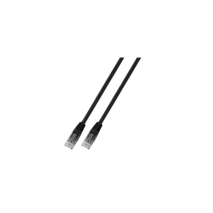 Пач кабел UTP EFB Elektronik, 0.5m, Cat 5E, черен image