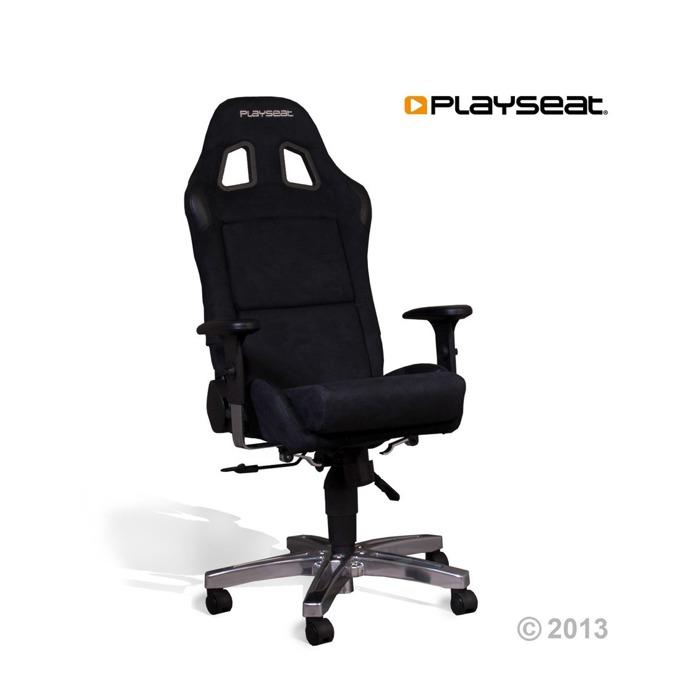 Геймърски стол Playseat Office Seat Alcanatra, черна image