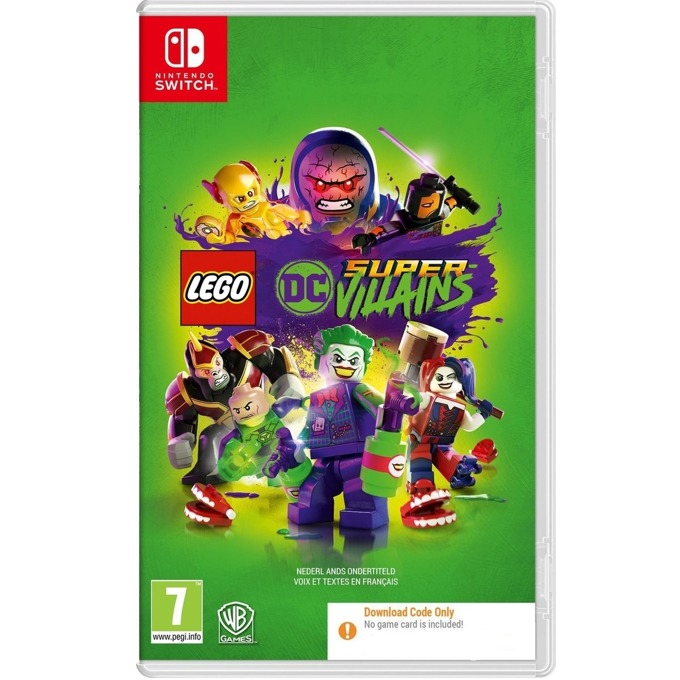 LEGO DC Super-Villains - Code in a Box Switch product