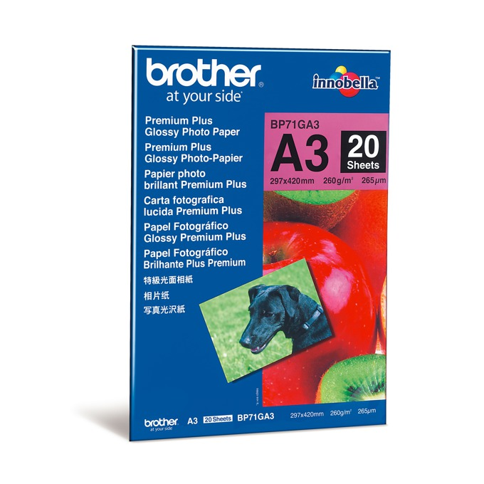 20 sheets glossy A3 paper product