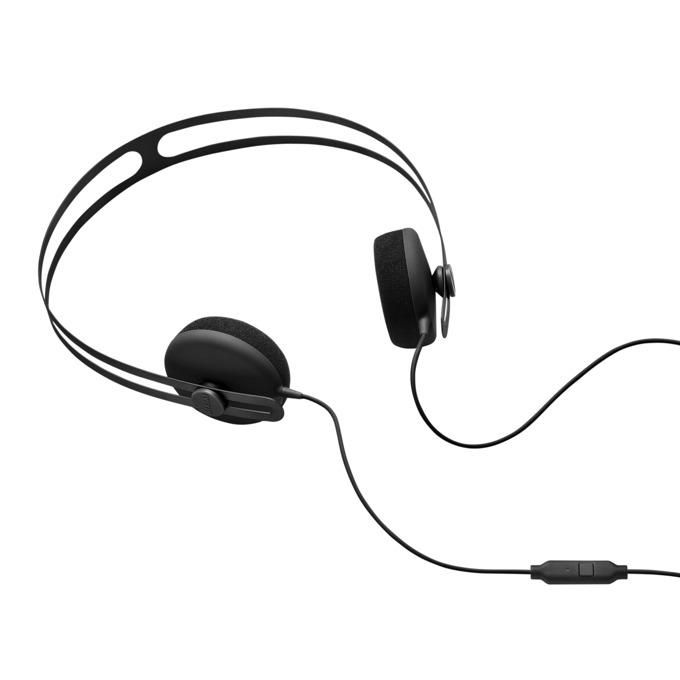 Слушалки AIAIAI Tracks, микрофон, 40мм говорители, бутон за разговори, 1.4m кабел, 3.5mm жак, черни image