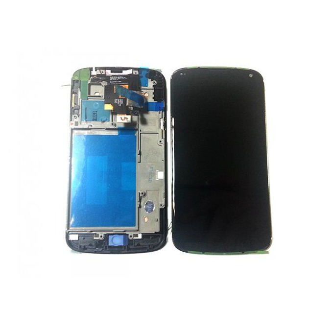 Дисплей за LG Nexus 4, LCD with touch and frame, Full Original, черен image