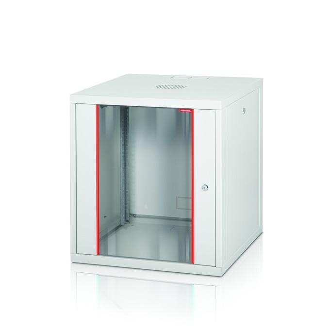 """Комуникационен шкаф Formrack GLD-16U560/ALFA-16U560, 19"""", 16U, 555 x 560 mm, бял image"""