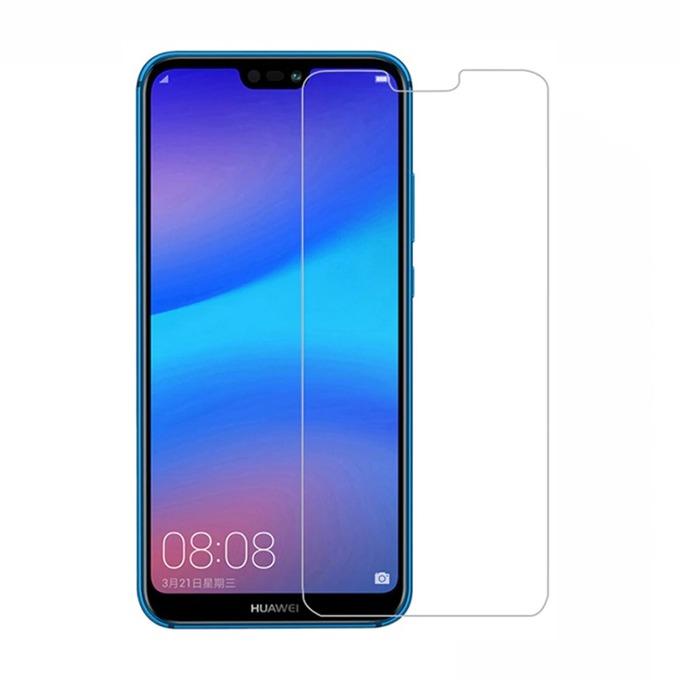 Протектор от закалено стъкло /Tempered Glass/ DeTech, За Huawei P20 Lite, 0.3mm image