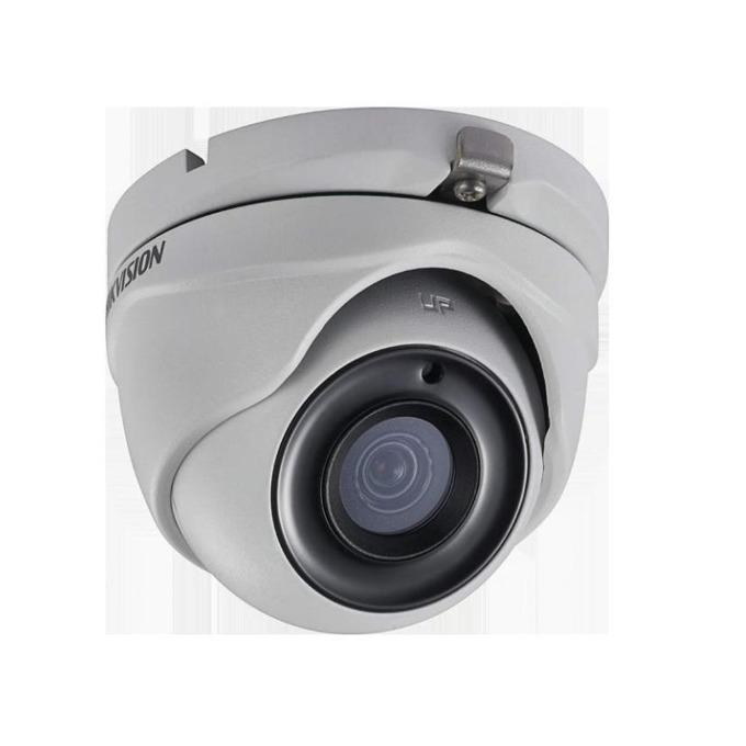 HDCVI камера Hikvision DS-2CE56H0T-ITMF, куполна камера, 5MP (2560*1944@20fps), 2.8 mm, IR осветление (до 20m), IP67 image