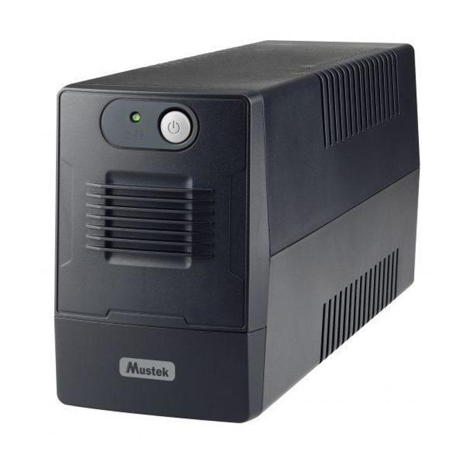 UPS Mustek PowerMust 800EG, 850VA/480W, Line Interactive, mini Tower image