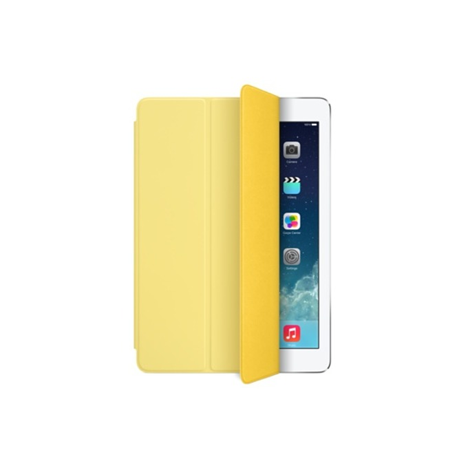 "Калъф  Apple iPad Smart Cover за таблет до 9.7"" (24.64 cm), ""бележник"", жълт image"