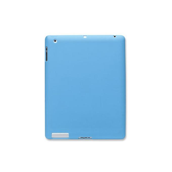 Протектор Manhattah iPad Slip-Fit Sleeve 450034, за Apple iPad, силиконов, син image