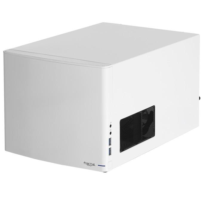 Кутия Fractal Design NODE 304, Mini-ITX, 2xUSB 3.0, бялa, без захранване image