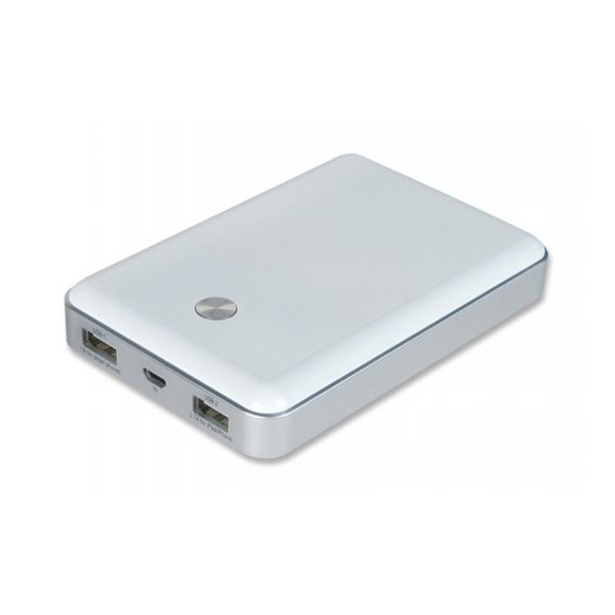 Външна батерия/power bank A-solar Xtorm AL360, 11000 mAh, 2x USB изходa за мобилни телефони, бяла image