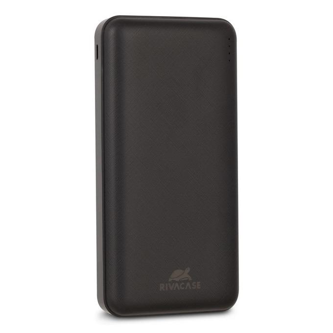 Bъншна батерия /power bank/ Rivacase VA2037, 10 000 mAh, 2x USB A, черна image
